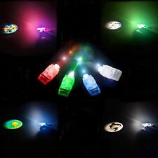 96 pcs LED Light Up Finger Projector Glow Kids Children Party Favors Glow Toys