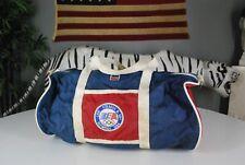 Vintage 90s Levi Strauss USA OLYMPICS Duffle Bag LEVIS Nylon Hipster Gym BIG E