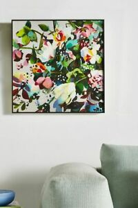 Anthropologie Flower Garden Wall Art-$288 MSRP