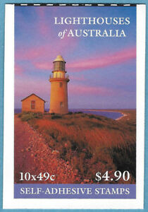 Australian 2002 Lighthouses Booklet Stamp MNH BAB165