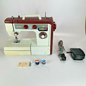 Jones VX710 Sewing Machine inc Accessories Excellent Condition - FAST POSTAGE