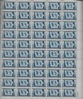 Scott 942, 3 cent, Iowa, Mint Sheet  MNH OG  VF  BV  16.00