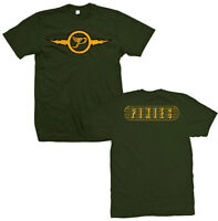 PIXIES T-Shirt Lightning Logo Mens Green New Authentic S-XL