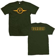 PIXIES T-Shirt Lightning Logo Mens Green New Authentic S-XL
