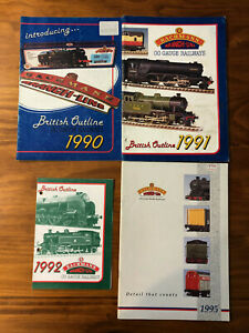 Collection of BACHMANN BRANCHLINE 1990's CATALOGUES - good condition