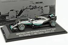 Nico Rosberg Mercedes F1 W07 Hybrid #6 WORLD CHAMPION FORMULA 1 2016 1:43