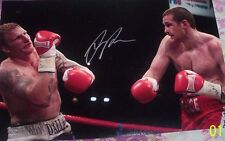 David Price Signed 18 x 12 INCH Boxing Photograph