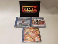 Misión confidencial, Surf cohete corredores, Worms Armageddon Sega Dreamcast!!!! nuevo!!!