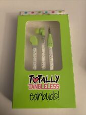 Totally Tangleless Earbuds Earphones Multicolor Headphones Flexi-Flat Cables