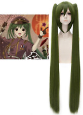 Vocaloid Senbonzakura Cosplay Wig Hatsune Miku Green Wig With Two Ponytails