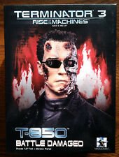 "Gentle Giant Terminator 3 BATTLE DAMAGED T-850 7.5"" Mini-Bust Limited to 6000"