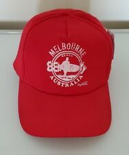 """Joey Roo """"Melbourne Beach, Australia"""" Red Hat ( New w/Tag )"""