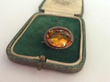 Vintage Costume Glass Brooches/Pins