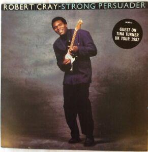 Robert Cray Strong Persuader Vinyl LP Original 1986