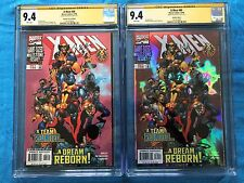 X-Men #80 Holofoil & Regular Edition - Marvel - CGC SS 9.4 - Signed by Joe Kelly