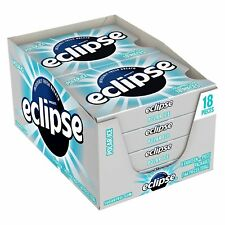 Eclipse Polar Ice Sugarfree Gum, 18 Piece (Pack of 8)