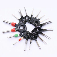 18Pcs Terminal Removal Car Electrical Wiring Crimp Connector Pin Extractor Tools