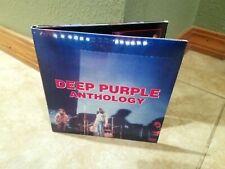 Deep Purple Anthology cd + dvd 2000 Ritchie Blackmore Ian Gillan Live videos