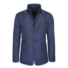 Giubbotto Uomo Invernale Giacca Blu Cappotto Casual Slim Fit Giubbino Sartoriale
