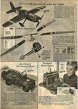 1973 ADVERTISEMENT Cox Patton's Army Jeep Toy Steam Engine