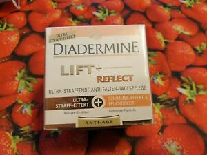 3 x Diadermine LIFT + REFLECT Straffende-Anti-Falten-Tagespflege anti aging