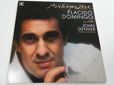 "PLACIDO DOMINGO with JOHN DENVER. PERHAPS LOVE. 12"" 33rpm LP Record ."