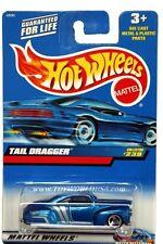 2000 Hot Wheels #239 Tail Dragger '00 crd thailand base