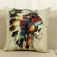 Geometric Bohemian Cotton Linen Cushion Cover Throw Pillow Case Car Home Decor