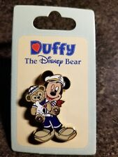 Disney Mickey Mouse Pin with Duffy Bear (Free shipping on 3 or more items)