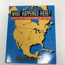 What Happened Here Knowledge Cards Events That Shaped American History New