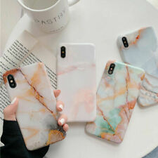 For iPhone Xs Max Xr X 6 7 8 Plus 11 Pro Marble Pattern Phone Case Cover Part
