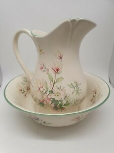 Royal Winton The Country Diary Collection Washstand Wash Jug Pitcher and Bowl