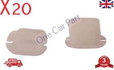 20x Peugeot 206 306 307 607 807 407 Door seal rocker socket clips 7703081019