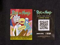 2019 NSCC EXCLUSIVE CRYPTOZOIC RICK AND MORTY SEASON 3 PROMO CARD # P5