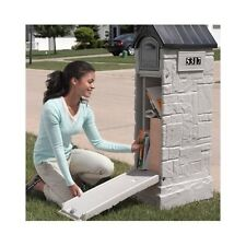 Extra Large Mailbox Security Lock Box Anti-Theft Locking Mail Vacation Package
