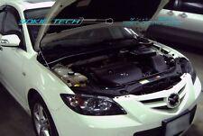 03-08 Mazda3 Mazda 3 MK1 BK Sedan Black Strut Gas Lift Hood Shock Damper Kit