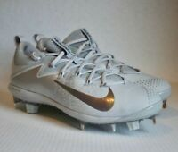 Mens Nike Lunar Vapor Ultrafly Elite Baseball Cleats Wolf Gray 852686-001