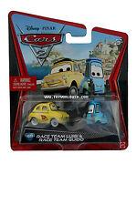 2011 Disney Cars 2 Race Team Luigi & Race Team Guido #10/11