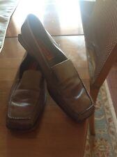Cole Haan ladies loafers Sz 8B, Olive Green, Slip On