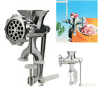 Manual Meat Grinder Machine Stainless Steel Heavy Duty Sausage Maker Meat Mincer photo