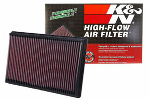 K&N 33-2247 Replacement Air Filter 03-19 RAM 1500 2500 3500 5.7L 6.4L 3.6L 4.7L