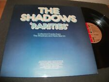 THE SHADOWS RARITIES VINYL LP NUT 2 VERY GOOD PLUS