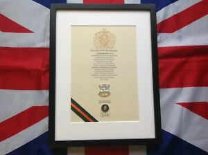 Devonshire And Dorset Regiment Oath Of Allegiance With Cap Badge And Shilling