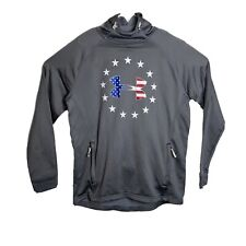 Mens Under Armour USA Pullover Size Large Loose