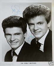 THE EVERLY BROTHERS Signed Photograph - Pop Singers - Preprint