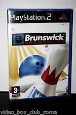 BRUNSWICK PRO BOWLING GIOCO NUOVO PS2 EDIZIONE ITALIANA PAL PRIMA STAMPA