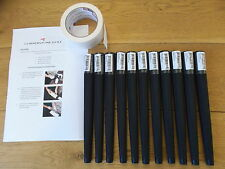 Lamkin Arthritic Golf Grips X 10 With Instructions and Tape