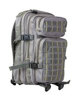Grey & Yellow Small 28 ltr Daysack Army Camping Rucksack Assault Pack