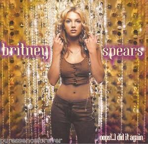 BRITNEY SPEARS - Oops!...I Did It Again (USA 12 Tk CD Album)