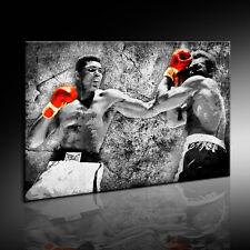 Leinwandbild Muhammad Ali Boxer Bild Wandbild Kunstdruck Pop Art k- Poster N-729
